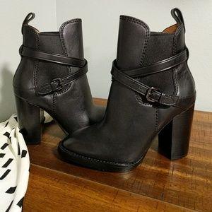 2b09349c921d1 Coach Shoes | Nwot Jackson Black Booties Size 8 | Poshmark